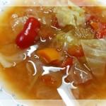 脂肪燃焼スープ完成