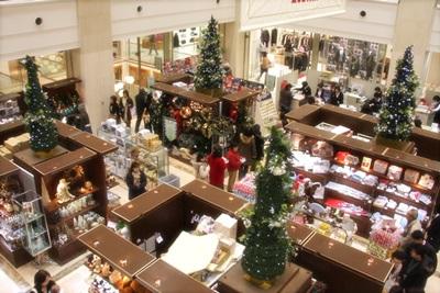 クリスマスの時の店内