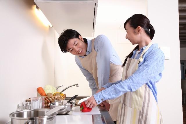 共働き夫婦の料理