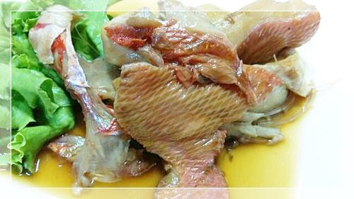 脂肪燃焼スープのお魚の日に役立つきんめ鯛煮つけ