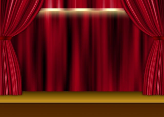 ガラスの仮面の演劇の舞台