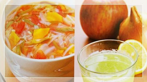 キャベツ酵素ジュース毒だしダイエットの脂肪燃焼スープとジュース