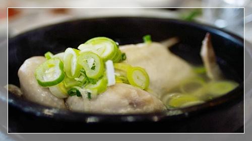 楊貴妃も込んで食べた参鶏湯