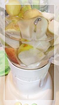 キャベツ酵素ジュース毒だしダイエットのタマネギジュースの材料をミックス