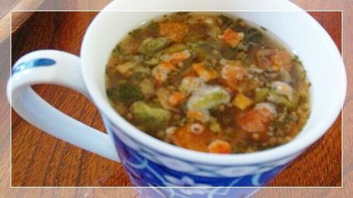 野菜スープ(トマト)完成