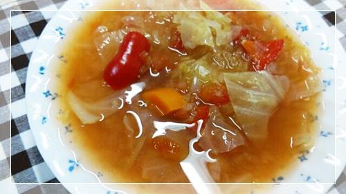 手作りの脂肪燃焼スープ