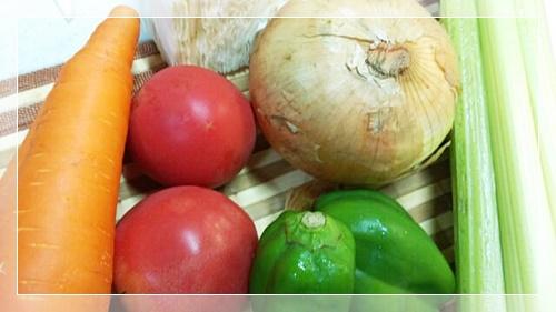 脂肪燃焼スープの6種類の野菜