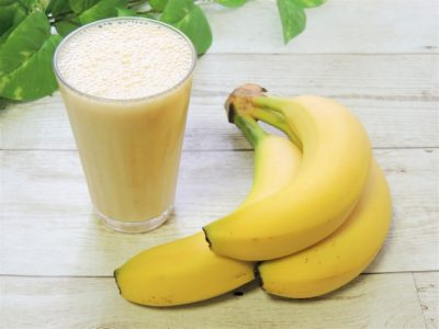 牛乳とバナナ
