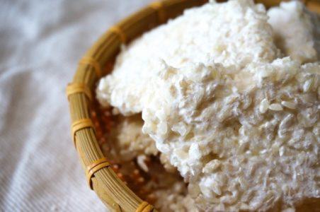 甘酒を造るための米麹