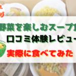 """<span class=""""title"""">野菜を楽しむスープ食(旧ベジ活スープ食)を食べてみた体験レビュー!脂肪燃焼UPの口コミ</span>"""